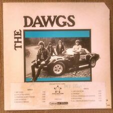 The Dawgs My Town LP Boston Power Pop Garage with Promo Poster & Insert RARE