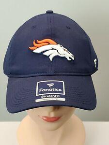 Broncos NFL Fanatics Pro Line StretchFit Cap Hat Authentic Sz. Medium/Large