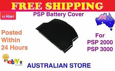 Black Battery Cover For Sony PSP 2000 Slim Series Playstation Portable PSP 3000