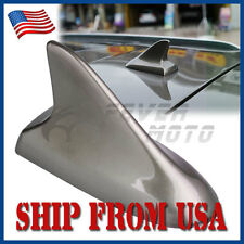 US Dark Gray Shark Fin Roof Top Decorative Dummy Antenna Aerial Universal Fit FM