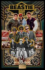 "Beastie Boys- 11x17"" Tribute Poster - Vivid Colors! (signed by artist)"