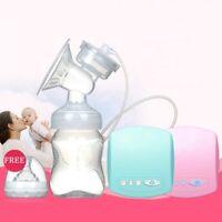 Bomba de pecho automática eléctrica con botella de leche bomba pecho sacar leche