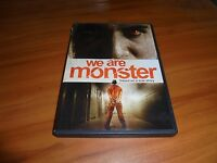 We Are Monster (DVD, Widescreen 2015)