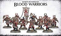 KHORNE BLOODBOUND BLOOD WARRIORS - WARHAMMER AGE OF SIGMAR - GAMES WORKSHOP