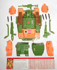 G1 TRANSFORMERS: ROADBUSTER 100% COMPLETE (-ANTENNA) with TECH 1985 HASBRO RARE!