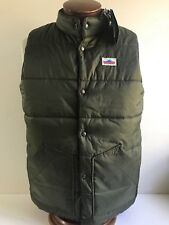 NEW PENFIELD Vest Men's Medium Green NWT Rugged Outdoor Puffer Snap