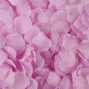 Silk Rose Petals Wedding Decoration Romantic Artificial Flower Party Accessories