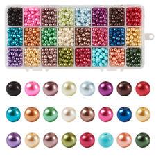 3980 Glass Beads Tube 6x4mm 36 inch Multi Coloured *UK  SHOP*