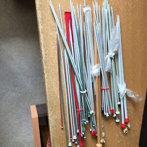 31 Pairs Of Knitting Needles UK and Metric
