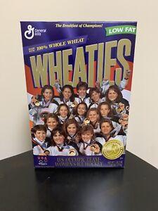 Wheaties US Olympic Team Women's Ice Hockey 1998 unopened Ships ASAP