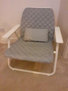 Ikea PS2017 Folding padded armchair Chair garden  conservatory