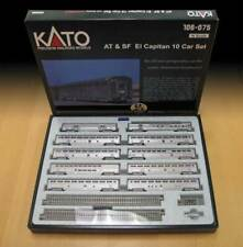 Kato 106084 escala N Santefe el Capitan 10 coche set