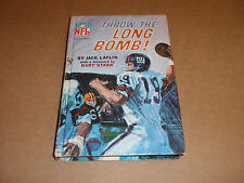 VINTAGE NFL BOOK THROW THE LIVE BOMB JACK LAFLIN 1967 GREEN BAY PACKERS