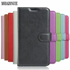 For Samsung Xcover 4 Case Wallet Cover Phone Case Plain Card Holder Flip Bag