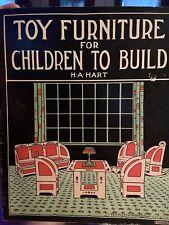 Art Deco Toy Doll House book  cut n' fold furniture Book