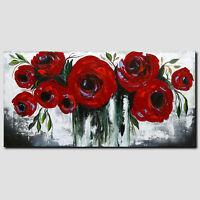 NOVAARTE Gemälde Abstrakte Kunst Malerei Modern Blumen Acryl Bilder Art ORIGINAL