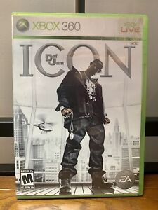 Def Jam: Icon (Microsoft Xbox 360, 2007) Tested! Working!