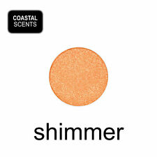Coastal Scents Hot Pot Eye Shadow - DEEP CANTALOUPE - warm orange-gold SHIMMER