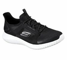 b6aa7bc54f790 Skechers Elite Flex Trainers Knit Mesh Memory Foam Sports Lace Mens Shoes  52640