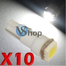 10 LED T5 SMD BIANCO Lampade Lampadine Posizione Per Fari Angel Eyes Quadro MOTO