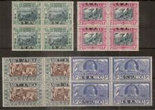 (D) SWA 1938 Voortrekker SG105-108 MH/MNH Cat£220