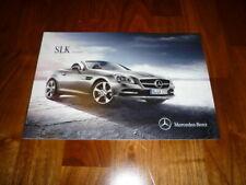 Mercedes SLK Prospekt 06/2015