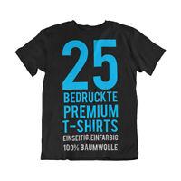 25 bedruckte T-Shirts - Siebdruck - T-Shirts bedrucken