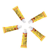 5 pcs Bicycle Tire Tube Patching Glue Rubber Adhesive Puncture Repairing Tool
