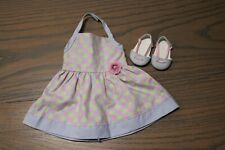 American Girl Doll Chrissa Sundress and shoes~no hair clips~Free ship