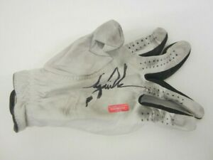 Used Tiger Woods Signed Autographed Glove Certified COA worn