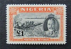 nystamps British Nigeria Stamp # 49 Mint OG H $105   A16y1764
