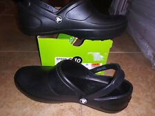 NEW $44 Womens Crocs Mercy Work Shoes, size 10