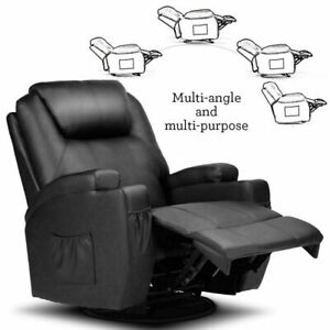 Pro Electric Massage Chair Zero Gravity Full Body Recliner Ergonomic Lounge Sofa