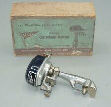 Vintage K&O Royal Blue Speed Master Electric Toy Motor 1950s Japan Original Box