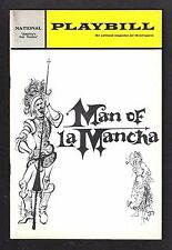 "Jose Ferrer ""MAN OF LA MANCHA"" Wilbur Evans 1967 Washington, D.C. Playbill"