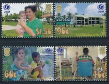 2002 TUVALU UNICEF RIGHTS OF THE CHILD SET OF 4 FINE MINT MNH