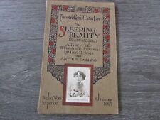 More details for sleeping beauty re-awakened christmas 1913 theatre royal drury lane programme