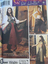 Simplicity 5359 Misses' Belly Dancer Skirt Top PATTERN Sizes 14-16-18-20 UNCUT