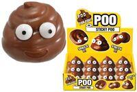 KandyToys Sticky Stretchy Poo Stress Ball Squishy Kids Party Bag Filler