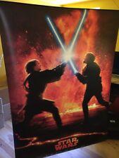 Rare Affiche Géante / PLV / Tenture - Star Wars 3 : La Revanche des Sith (2005)