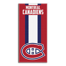 NHL Montreal Canadiens großes Badetuch Handtuch Zone-Read-Beach Towel 150x75cm