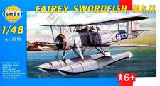 Fairey Swordfish Mk II Floatplane (1/48 model kit, Smer 0818)