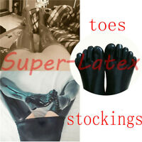 178 Latex Rubber Gummi Stocking toes socks customized catsuit costume