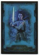 2016 Star Wars Masterwork Blue Metallic 40 Rey