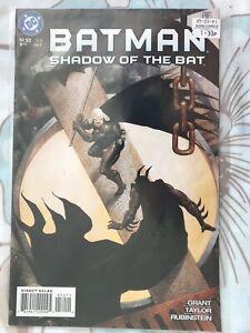 Batman Shadow of the Bat #52 DC Comics Grant Taylor Rubinstein July 1996 FP