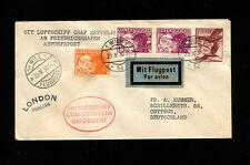 Zeppelin Sieger 55 1930 England Flight Austria Dispatch