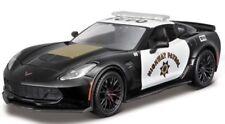 Maisto 1/24 2015 Chevrolet Corvette Z06 Highway Patrol Police Car - 32516