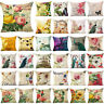 Flower Printi 18inch Pillow Case Cover Sofa Couch Cushion Cover Home Decor Gift