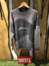 New with tags Diesel men's ME-S-JOE-RAG sweatshirt 00SR4X 0CAKV size XL RRP 189$