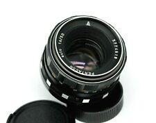 Vintage Zebra PENTACON auto 1.8/50mm M42 screw mount lens Portrait Lens MY66